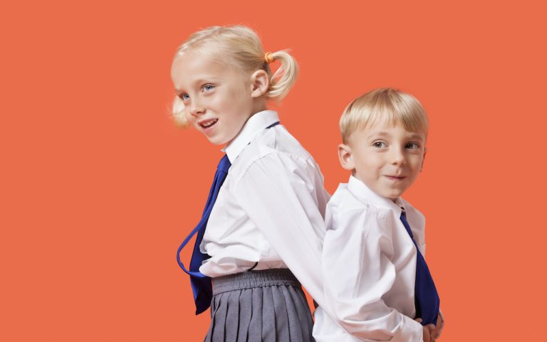 Caring for school uniforms