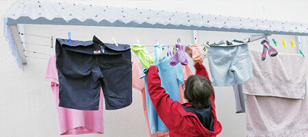 Clothesline Canopy